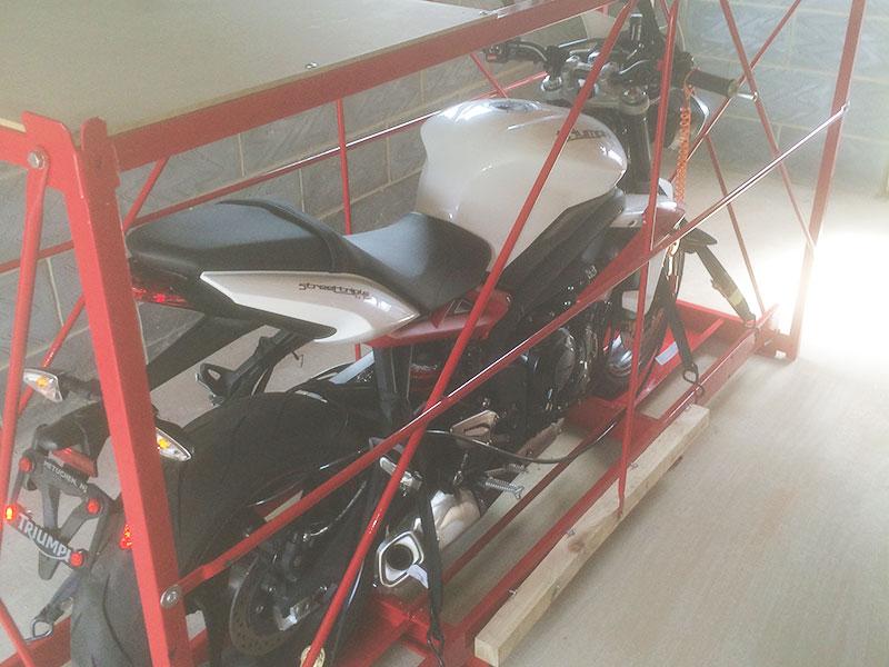 Motorcycle storage in Dereham