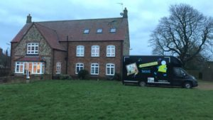 Family Movers at Wormegay near Kings Lynn