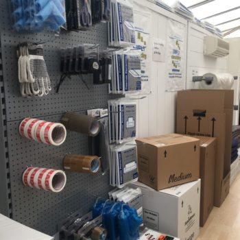 Packaging shop, gloves tape... Dereham,