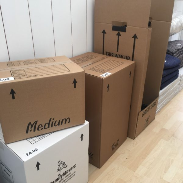 medium, large, wardrobe boxes